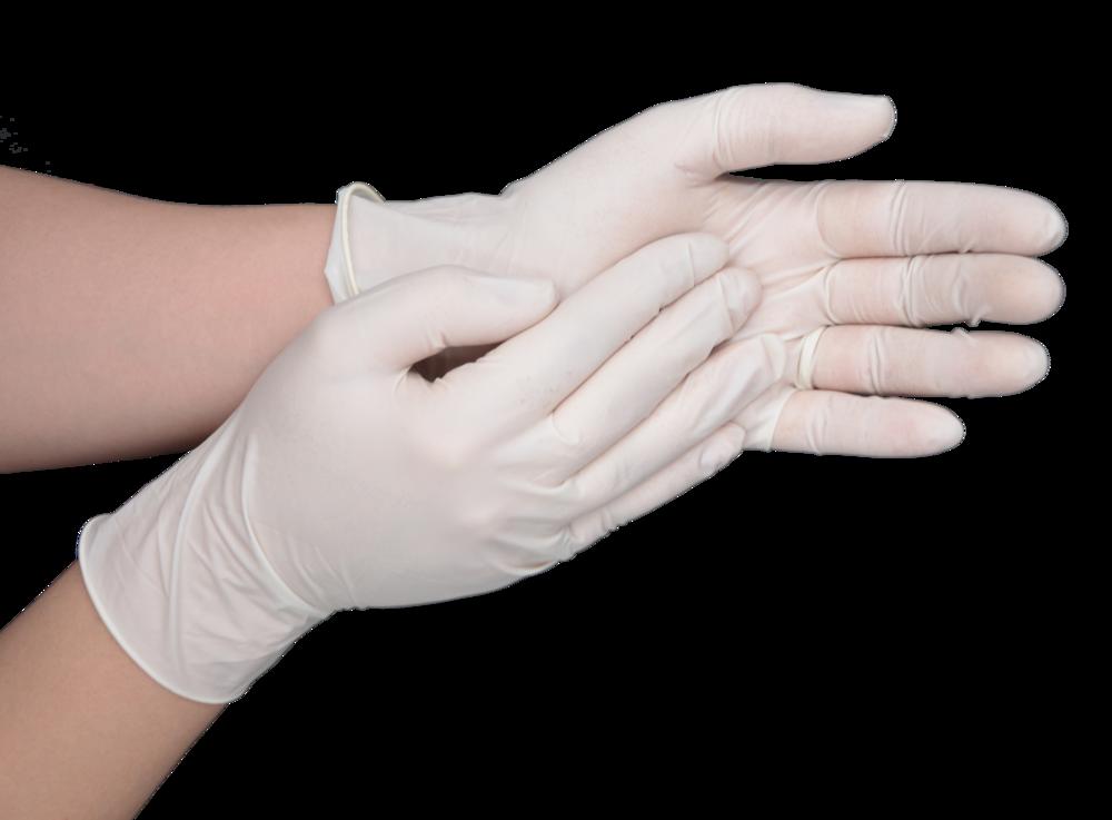 Glove clipart sterile glove. Latex gloves hcs