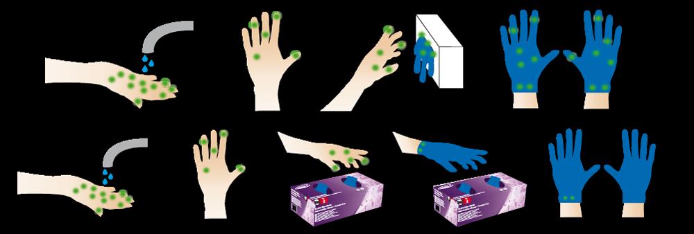 Safedon hpc healthline an. Glove clipart sterile glove