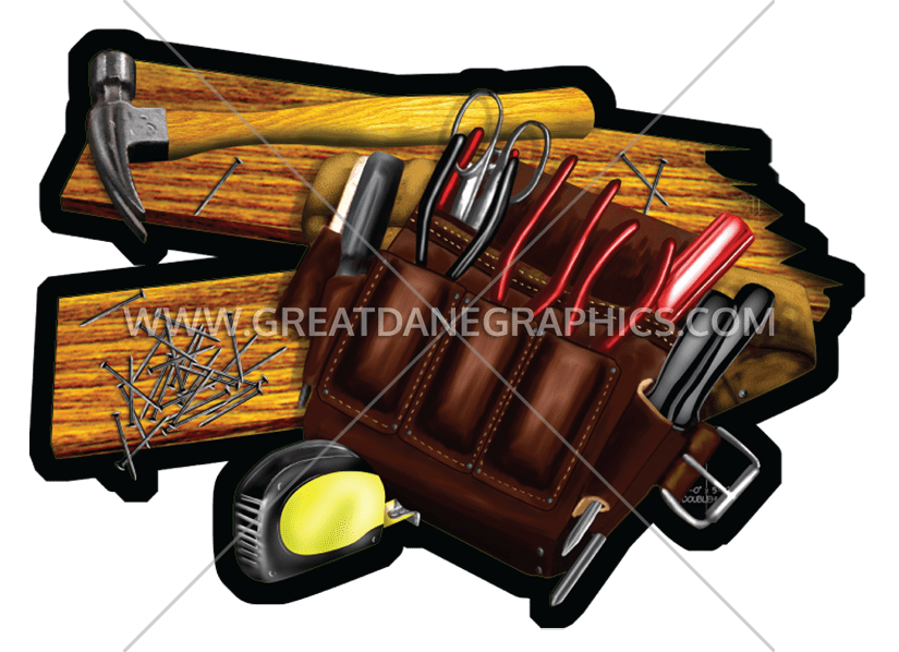 Glove clipart tool. Carpenter s tools production