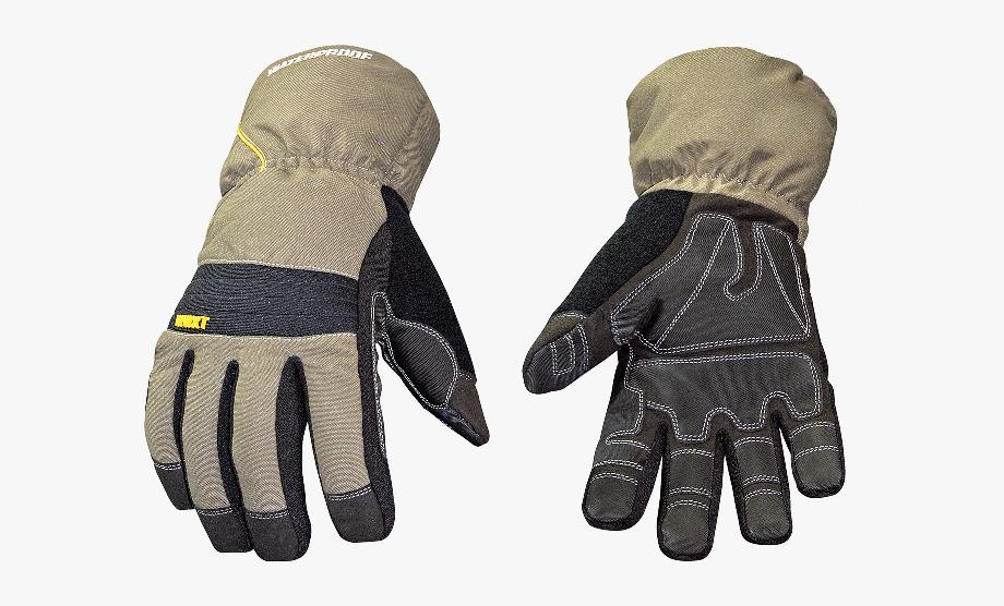 Construction worker winter . Glove clipart warm glove
