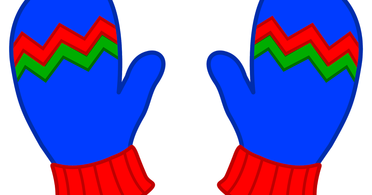 Mittens clipart hand glove. Ideas for early childhood