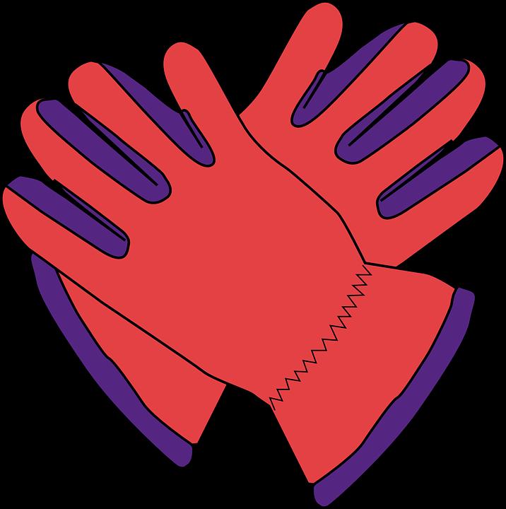 Glove clipart warm glove. Free photo winter red