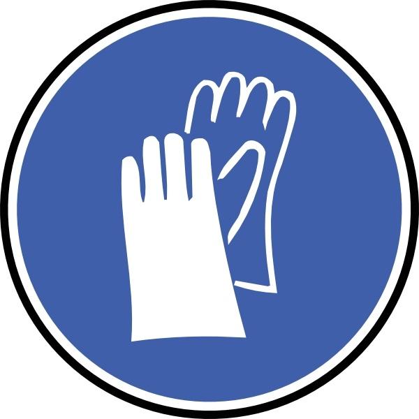 Gloves clipart vector. Wear clip art free