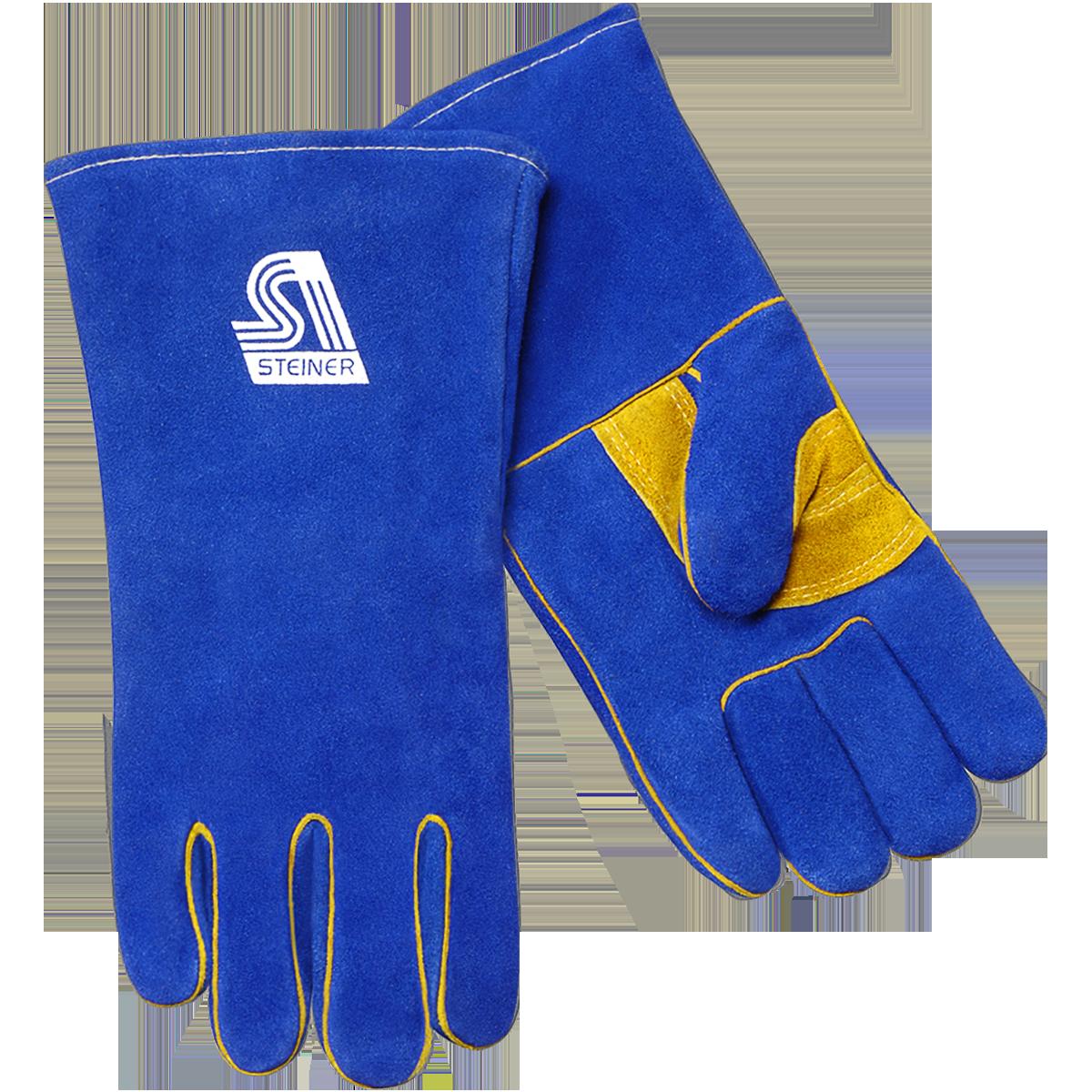 Glove clipart welding glove. Stick steiner industries thermocore