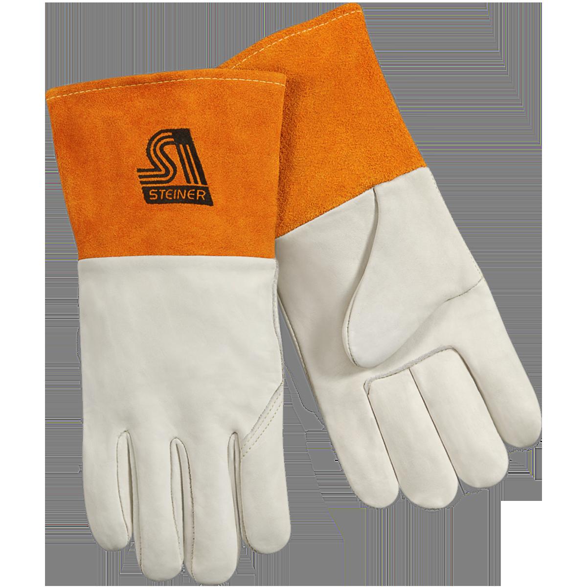Glove clipart welding glove. Mig steiner industries pigskin