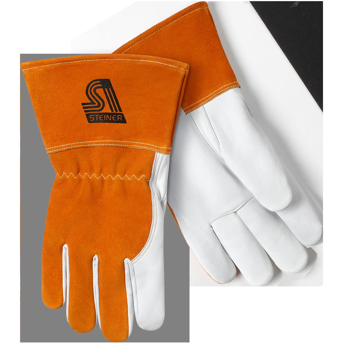Glove clipart welding glove. Mig steiner industries