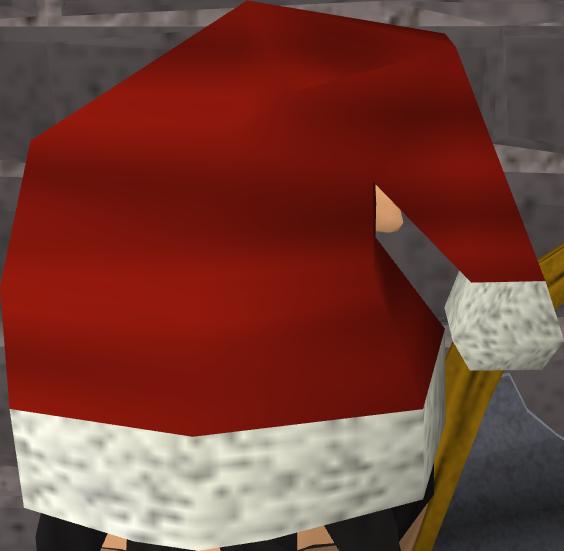 Glove clipart woolly hat. Santa runescape wiki fandom