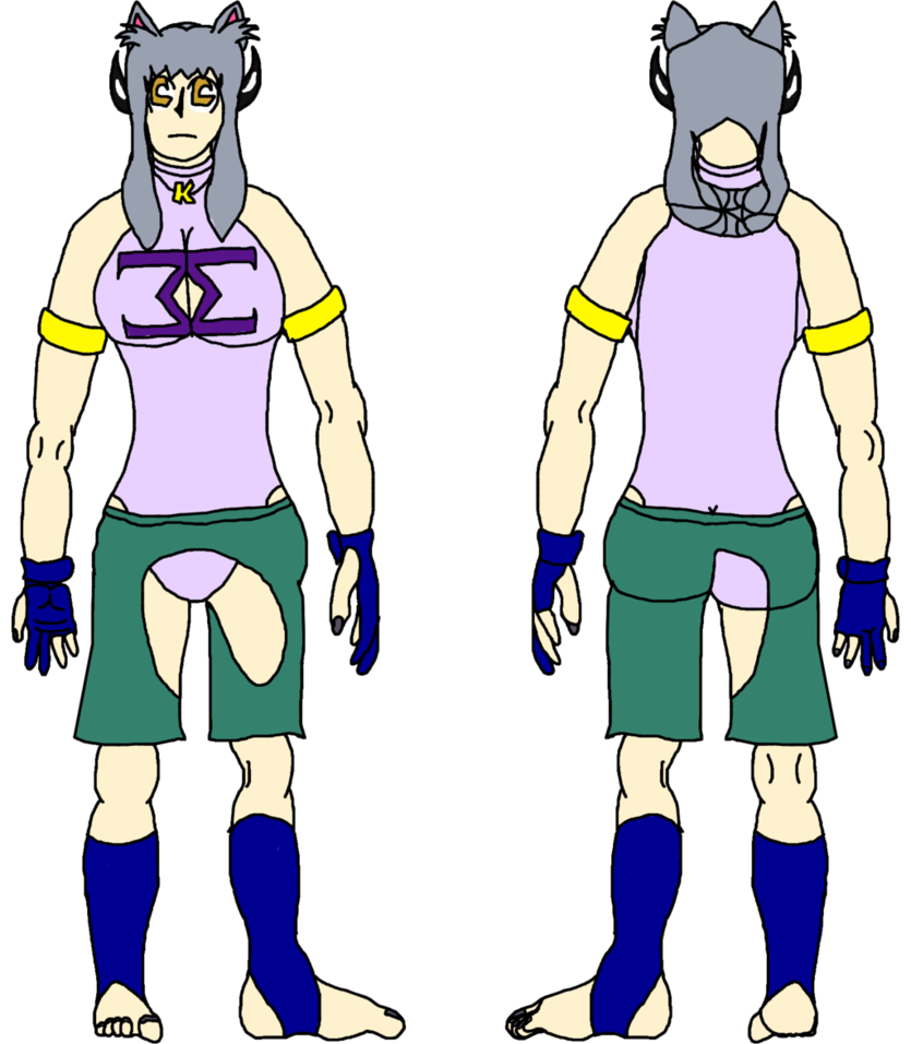 Chisa s outfit by. Glove clipart wrestling