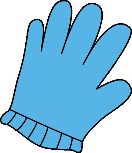 Gloves clipart. Glove clip art image