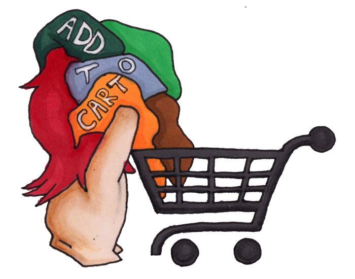 Shopping d automne mes. Gloves clipart article clothing