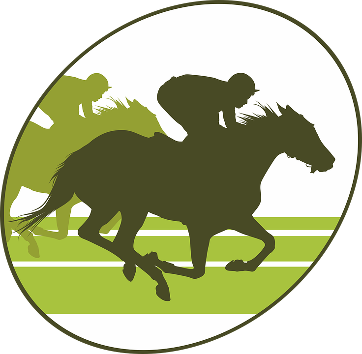 Horse racing free on. Gloves clipart cartoon