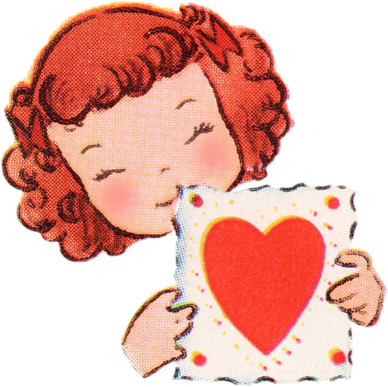 Free vintage valentines day. Gloves clipart catch