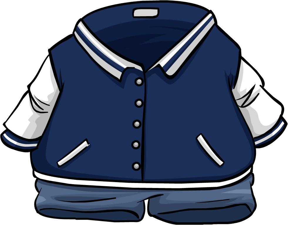 Jacket varsity free on. Gloves clipart coat