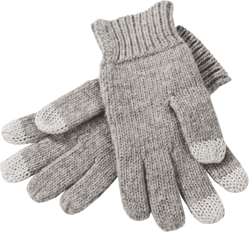Winter png free images. Gloves clipart coat
