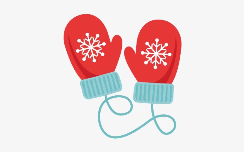 Gloves clipart cute. Winter mittens svg scrapbook