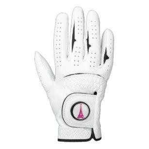 d eiffel tower. Gloves clipart golf glove