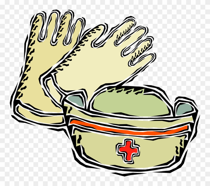 Medical rubber and s. Gloves clipart nurse glove