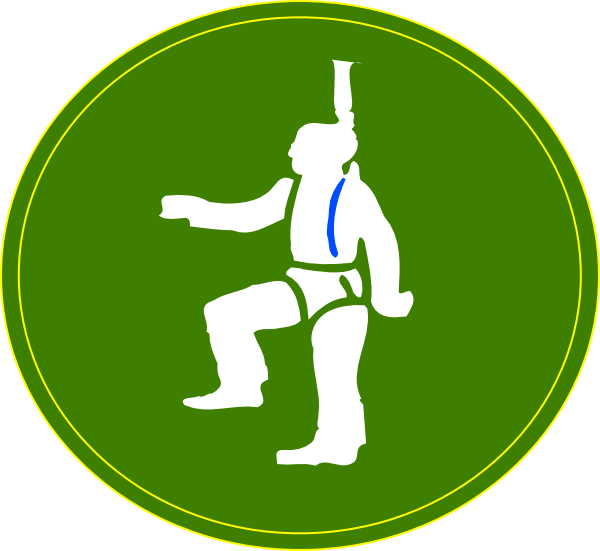 At height ppe clip. Working clipart working