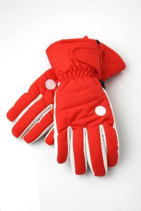 Marker lovetoknow . Gloves clipart ski glove