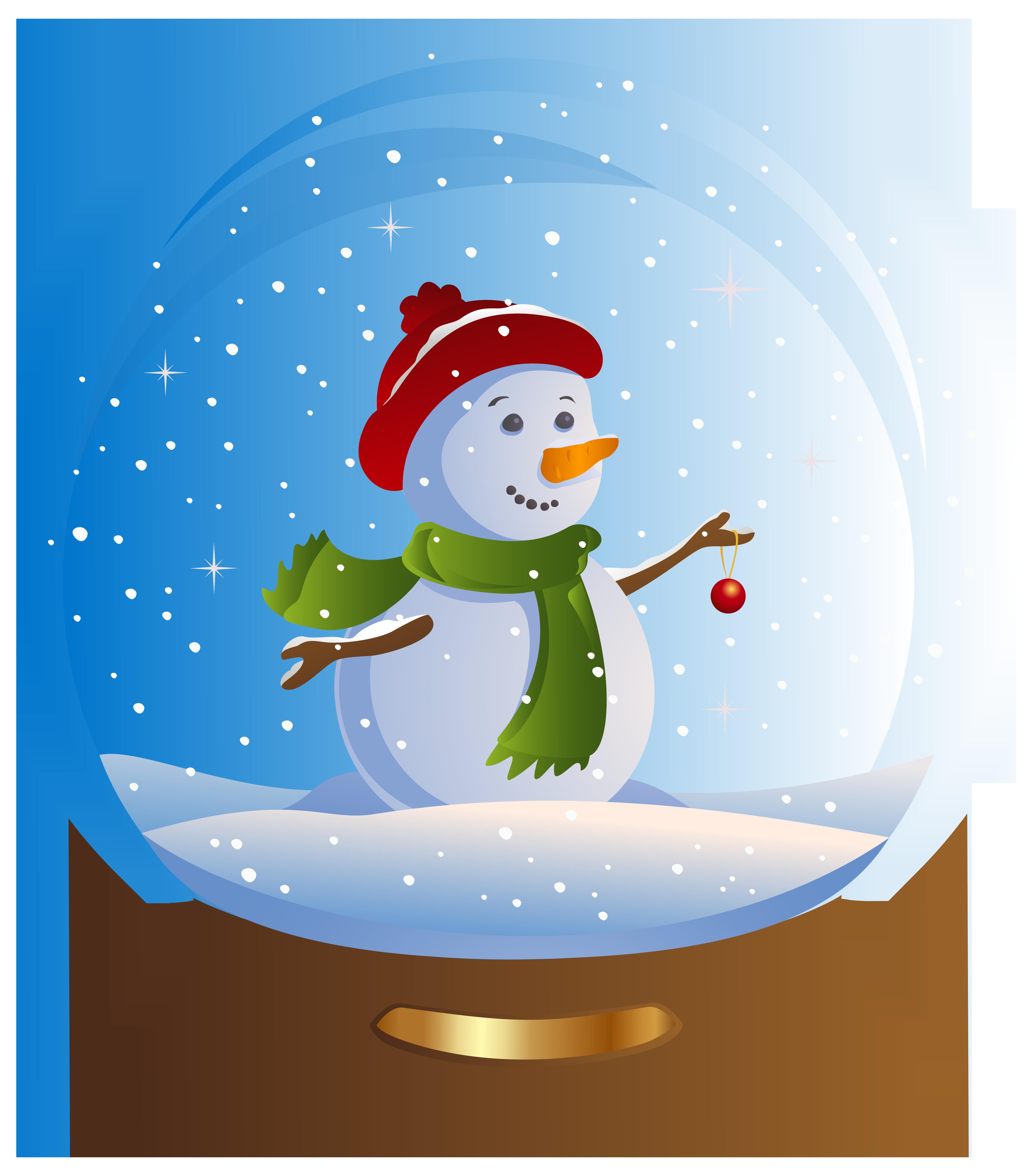 Gloves clipart snowman.  best snow globe