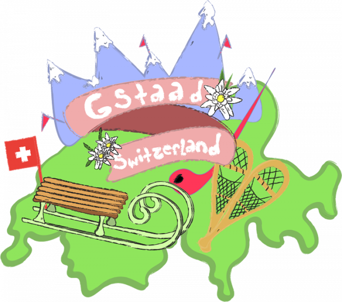 Gloves clipart snowy clothes. Lhd gstaad switzerland guide