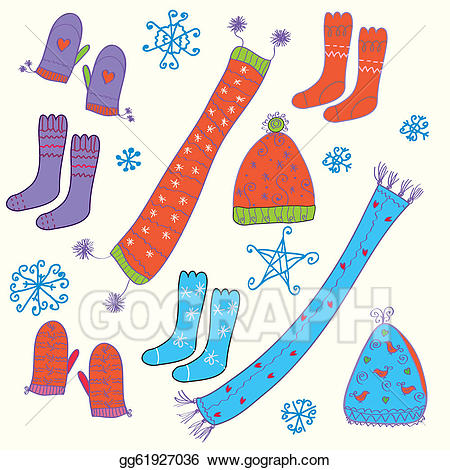 Gloves clipart sock. Free download clip art