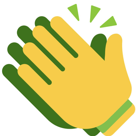 U f clap to. Gloves clipart vector