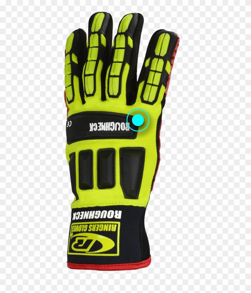 Gloves clipart work glove. Football gear png download