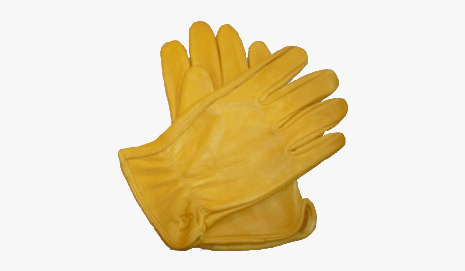 Gloves clipart yellow glove. Leather cliparts cartoons