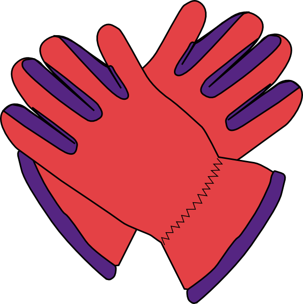 Gloves . Mittens clipart printable