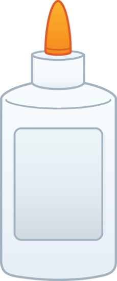Glue clipart. Bottle of free clip