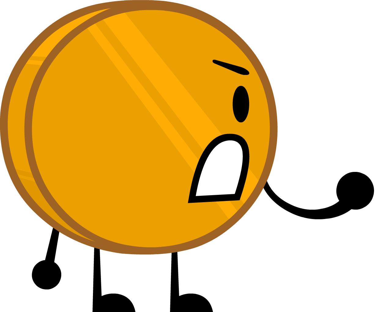 Glue clipart bfdi. Coiny battle for dream