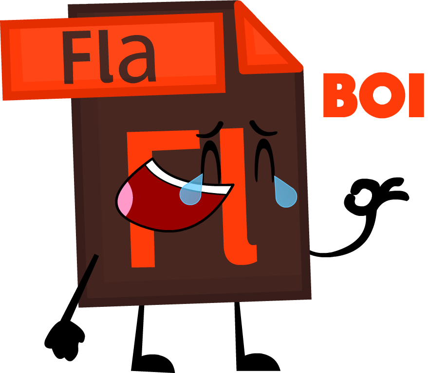 Glue clipart bfdi. Image ew flash file