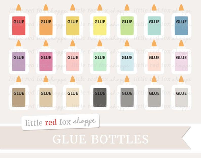 Glue clipart cute. Bottle crafting clip art