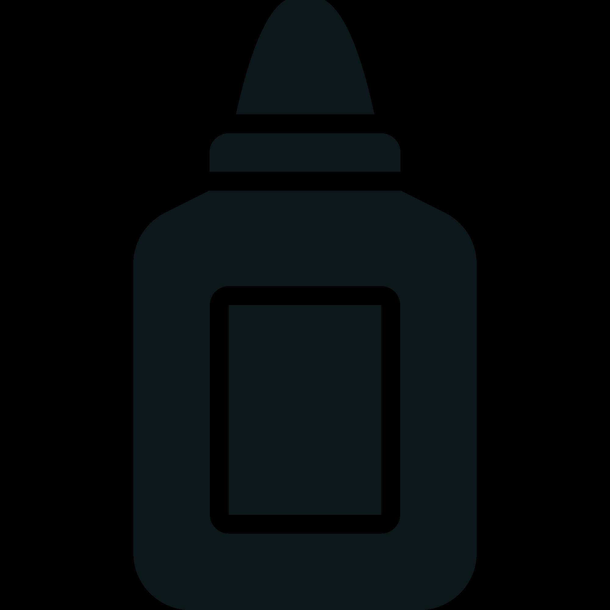 Glue clipart glue bottle. File toicon icon stone