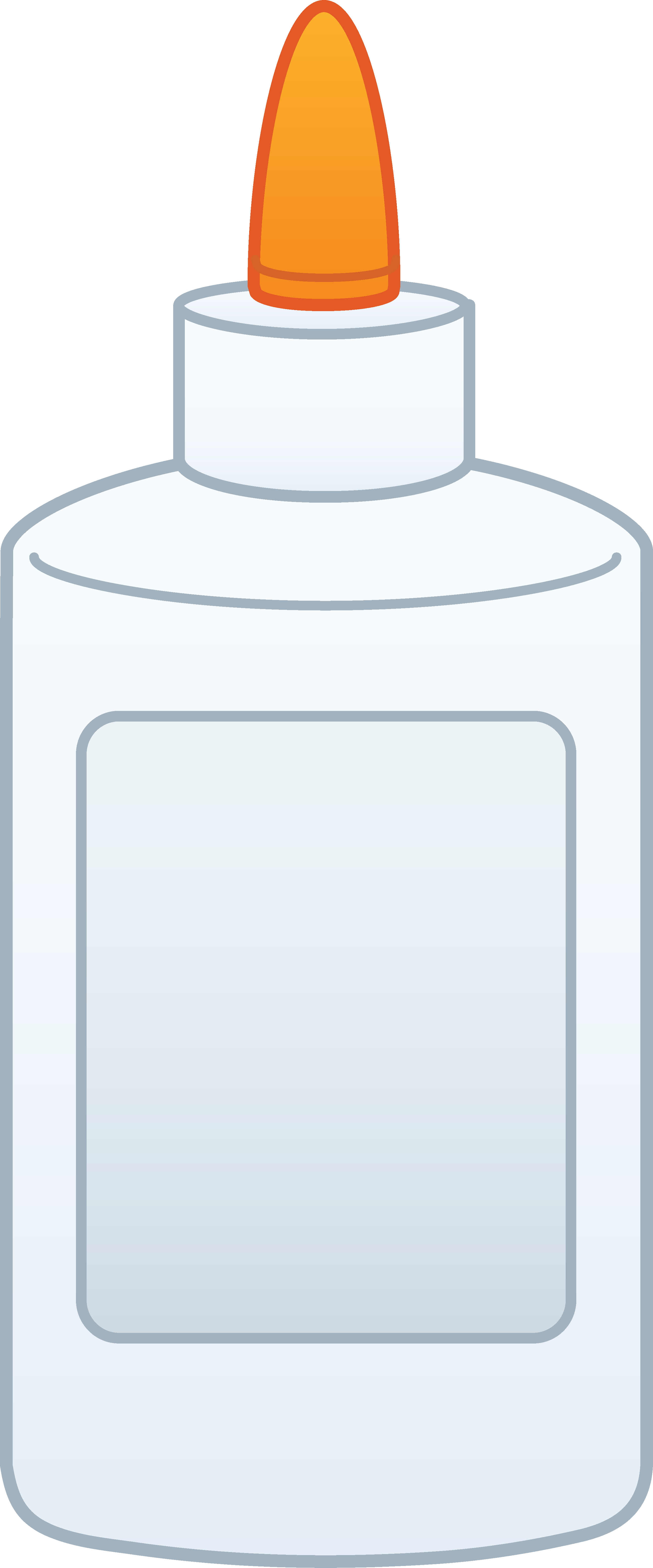 Bottle of free clip. Glue clipart solvent
