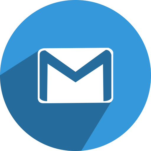 Gmail icon png. Social media network fill