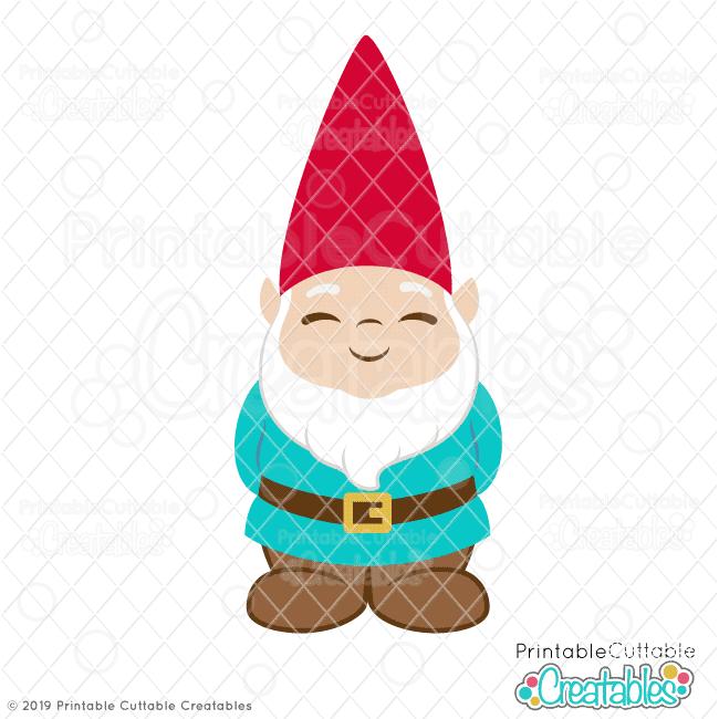 Gnome clipart. Cute garden svg file
