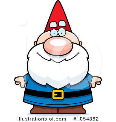 Gnome clipart. Illustration by cory thoman