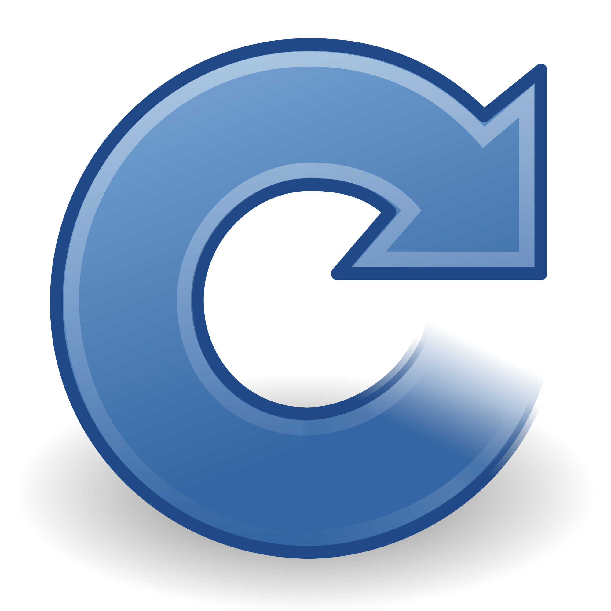 Gnome clipart color. File colors view refresh