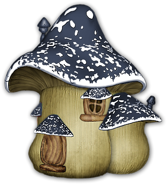 Gnome clipart fairy house, Gnome fairy house Transparent