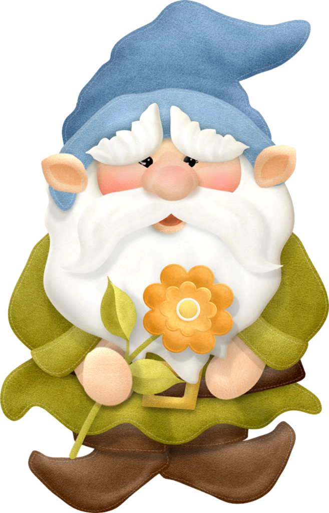 Gnome man png gnomes. Ice clipart printable
