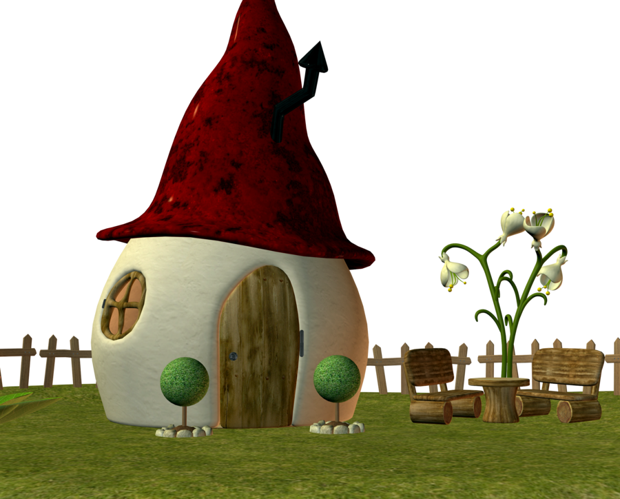 Elf by ecathe deviantart. Gnome clipart fairy house