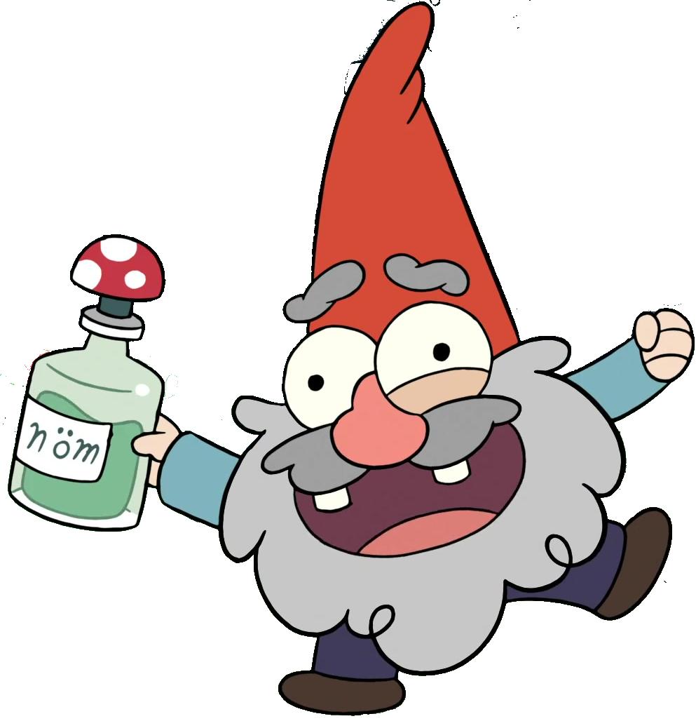 Gnome clipart gravity falls, Gnome gravity falls ...