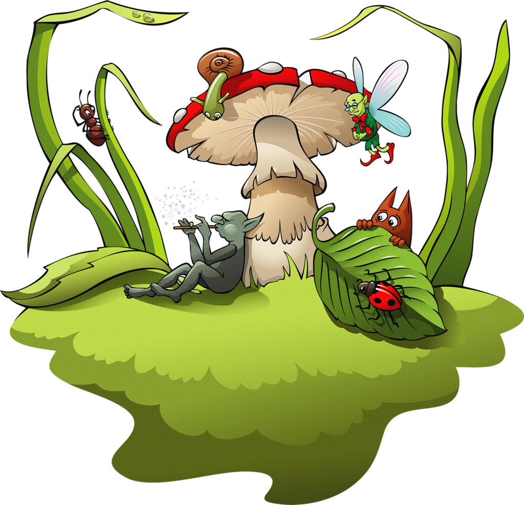 Land clipart fairy land.  png gnomes and
