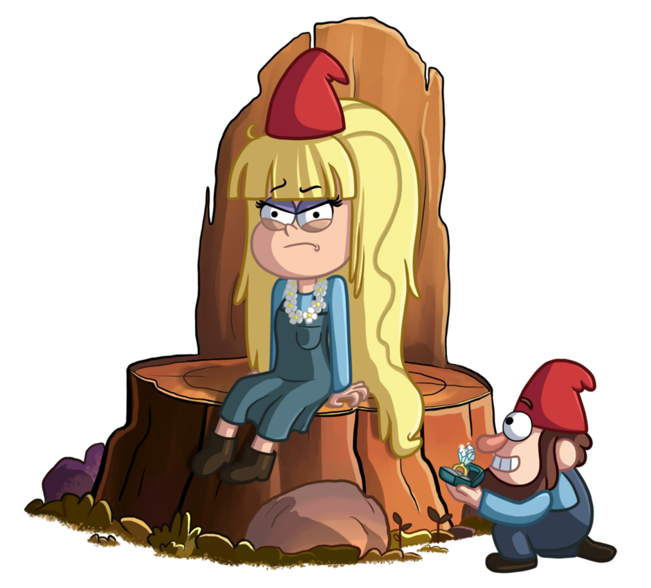 Queen by thecheeseburger on. Gnome clipart jeff the
