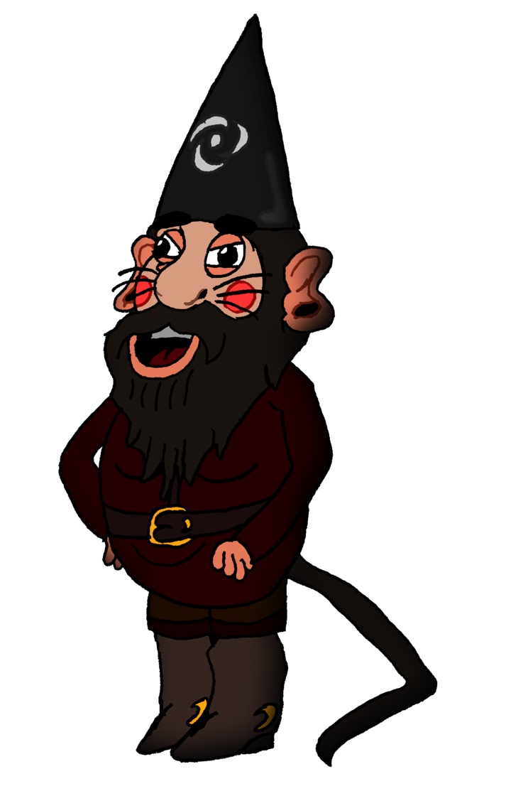 Gnome clipart lawn. The rat hybrid by
