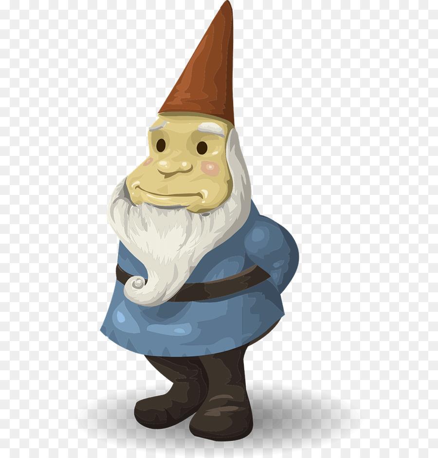 Garden ornament png download. Gnome clipart lawn