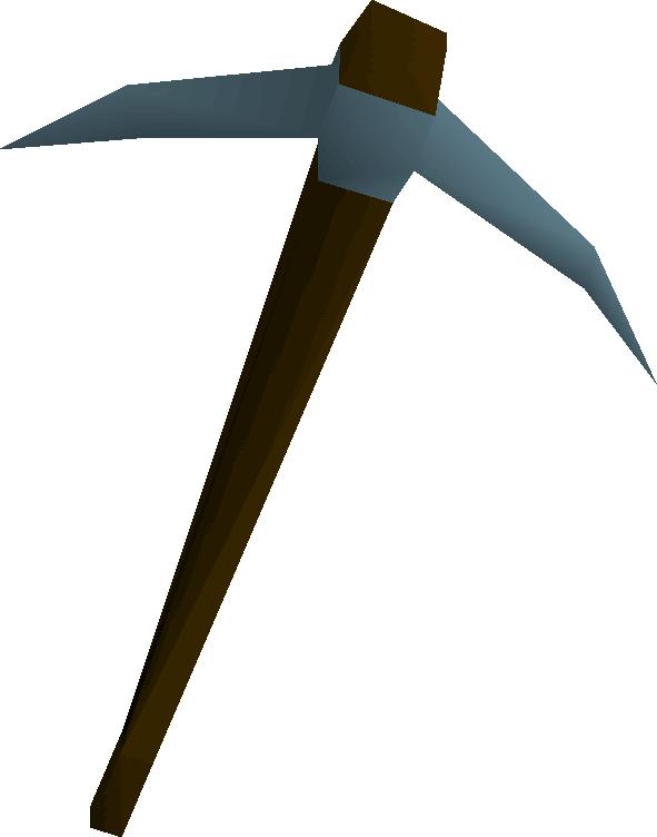 Rune pickaxe old school. Gnome clipart mining