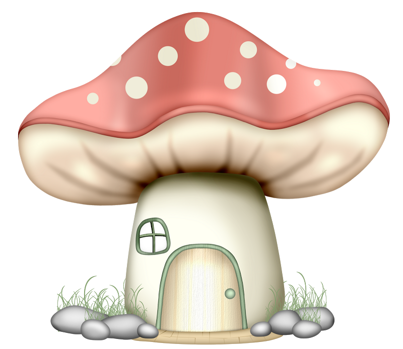 Pin on fairies gnomes. Gnome clipart mushroom